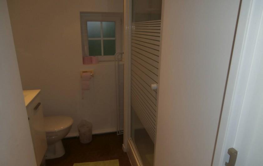 Location de vacances - Gîte à Beuvrequen - La salle de bain
