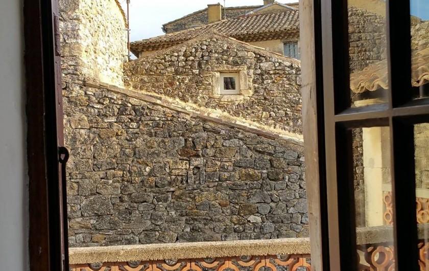 Location de vacances - Maison - Villa à Cornillon - vue de la chambre 2 (étage)