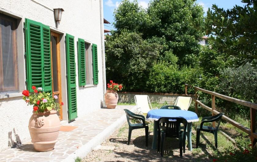 Location de vacances - Appartement à Reggello - Entrée de l'appartement