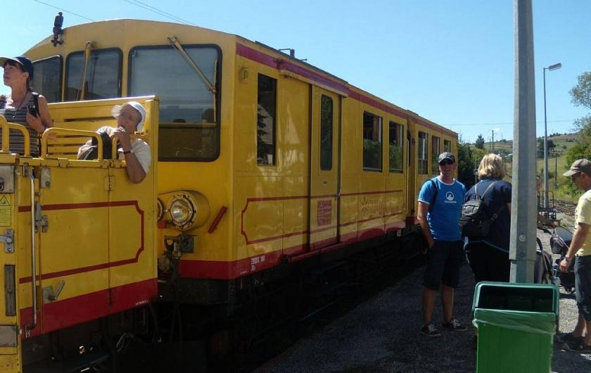 Location de vacances - Villa à Le Barcarès - Le train jaune