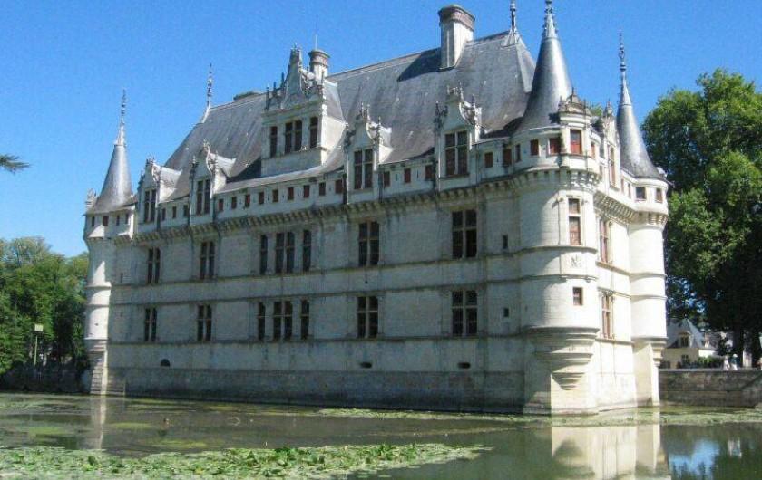 Location de vacances - Gîte à Azay-le-Rideau - château d'Azay le Rideau