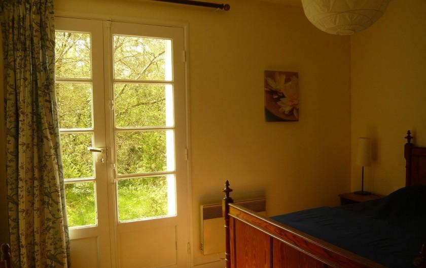 Location de vacances - Gîte à Azay-le-Rideau - chambre lit double 140x190