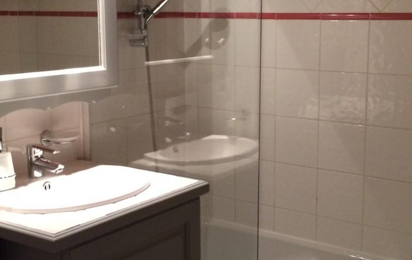 Location de vacances - Appartement à Arc 1800 - Une des 2 salles de bains