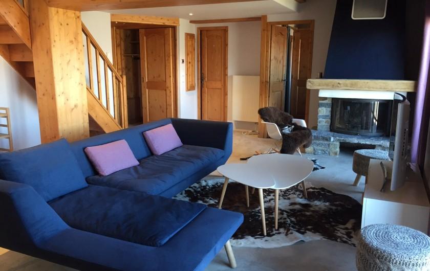 Location de vacances - Appartement à Arc 1800 - Autre vue du salon