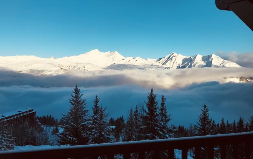 Location de vacances - Appartement à Arc 1800 - Au dessus des nuages