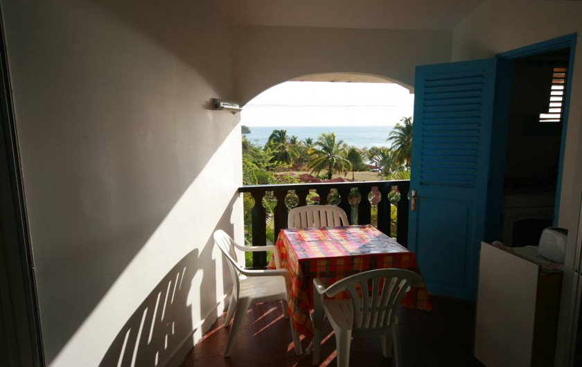 Location de vacances - Appartement à Sainte-Anne - Coin salle à manger