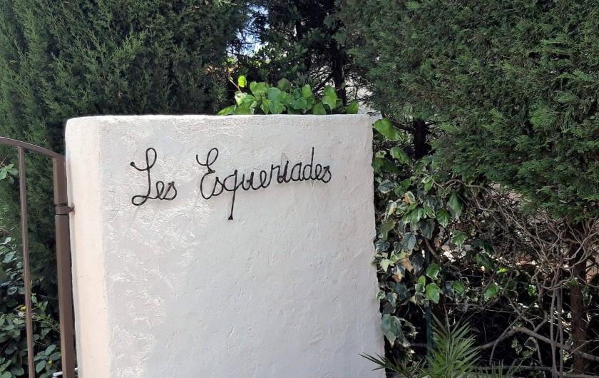 Location de vacances - Villa à Sainte-Maxime - la résidence