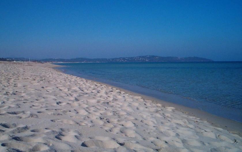 Location de vacances - Villa à Sainte-Maxime - la plage de St. Aygulf