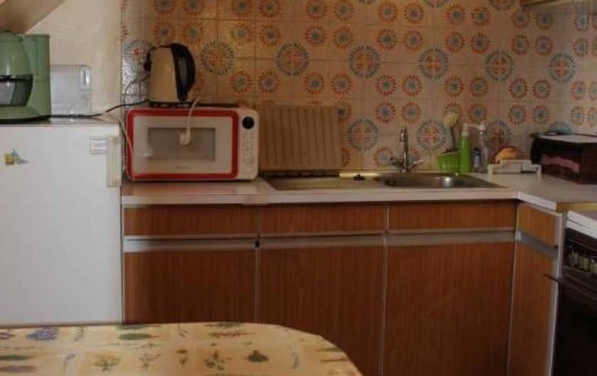 Location de vacances - Appartement à Cauterets - appartement 2 : cuisine