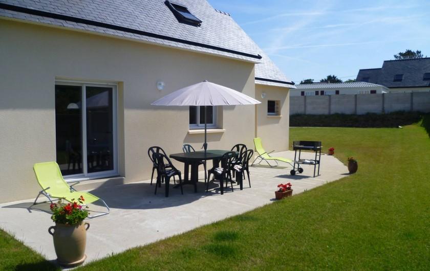 Location de vacances - Maison - Villa à Camaret-sur-Mer - maison coté terrasse
