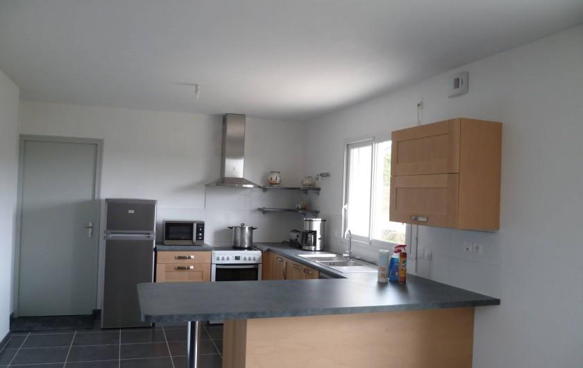 Location de vacances - Maison - Villa à Camaret-sur-Mer - cuisine ouverte