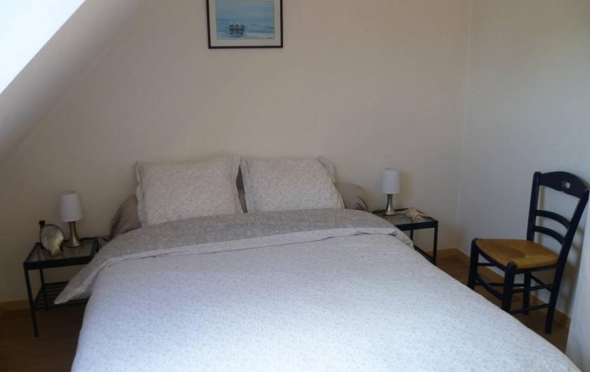 Location de vacances - Maison - Villa à Camaret-sur-Mer - chambre lit 160x200