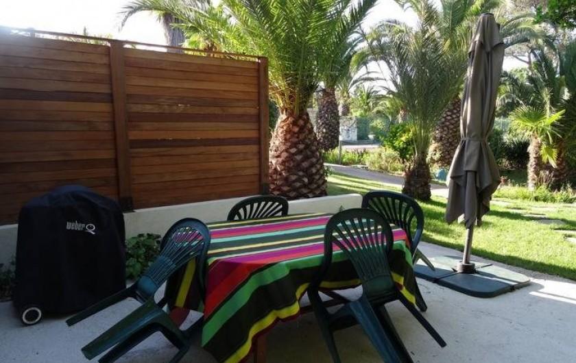 Location de vacances - Gîte à Bormes-les-Mimosas - Mas N°4