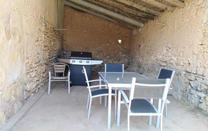 Location de vacances - Mas à Atzeneta del Maestrat - Barbecue à gas