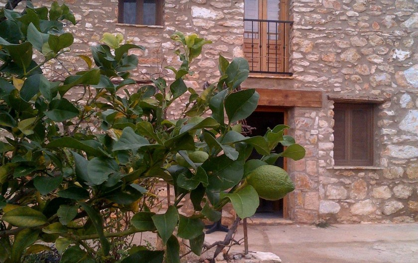 Location de vacances - Mas à Atzeneta del Maestrat - Casa Eliane