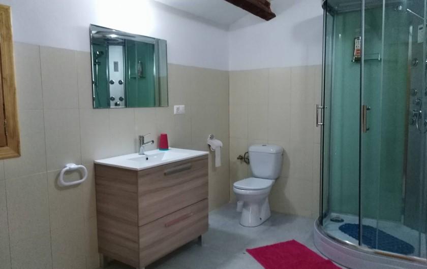 Location de vacances - Mas à Atzeneta del Maestrat - Salle de bain 3