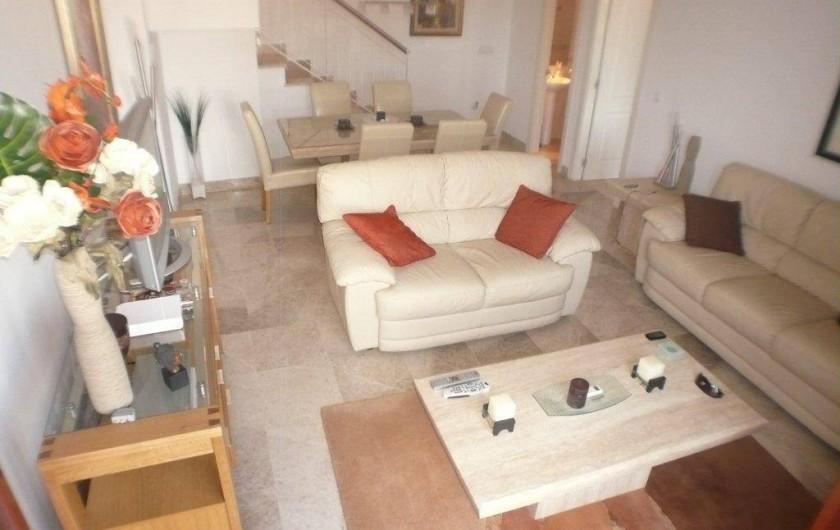 Location de vacances - Appartement à La Cala de Mijas - Le Salon