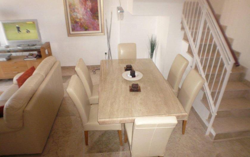 Location de vacances - Appartement à La Cala de Mijas - La salle à Manger