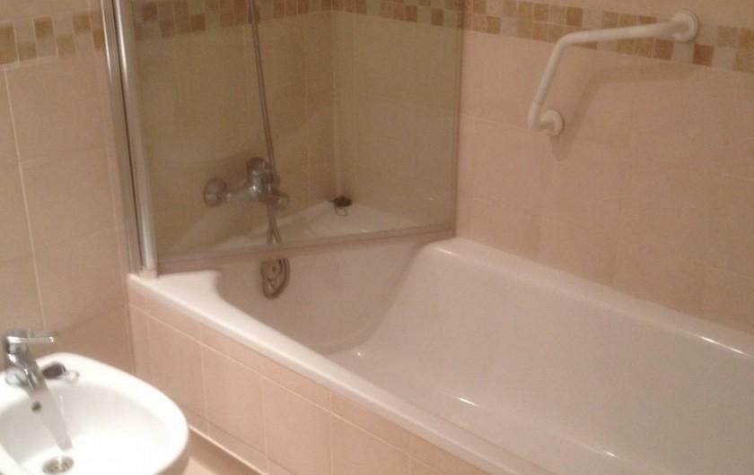 Location de vacances - Appartement à La Cala de Mijas - Salle de bain