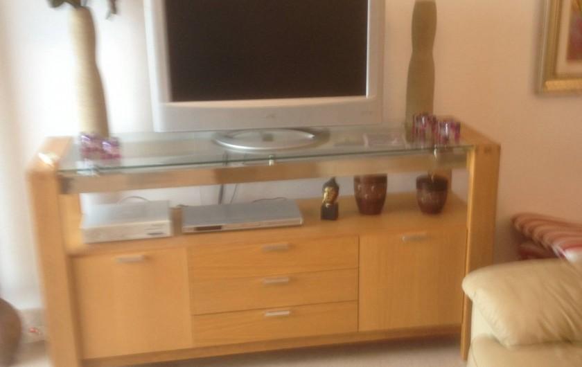 Location de vacances - Appartement à La Cala de Mijas - Coin télé