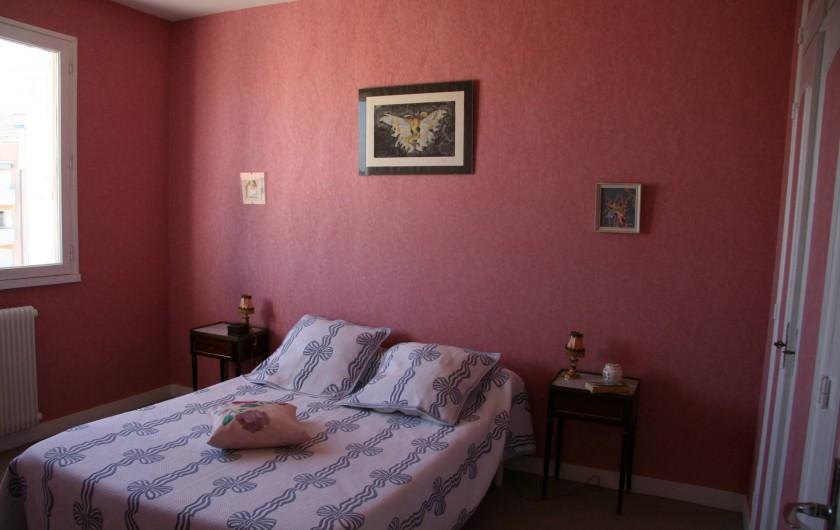 Location de vacances - Appartement à Arcachon - Chambre rose