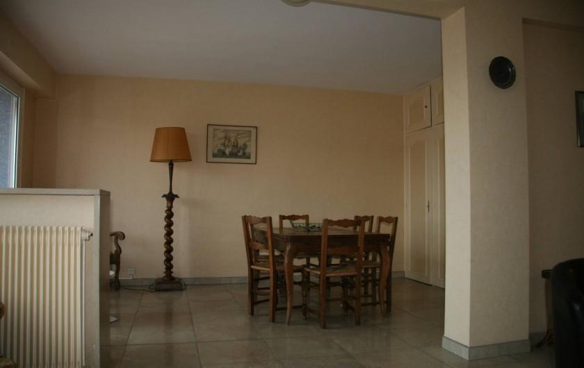 Location de vacances - Appartement à Arcachon - Partie salle à manger du séjour