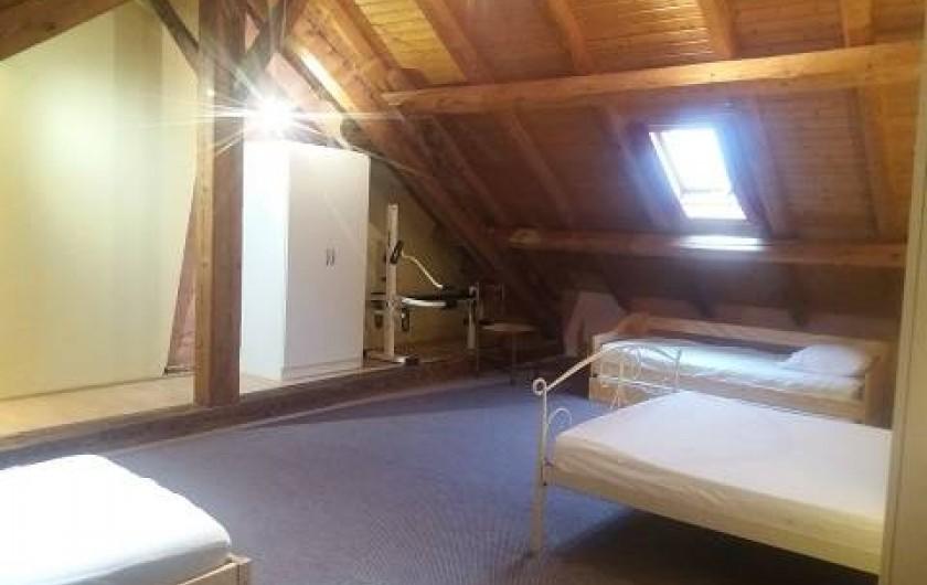 Location de vacances - Gîte à Rochesson - Chambre 1 Grand Gite