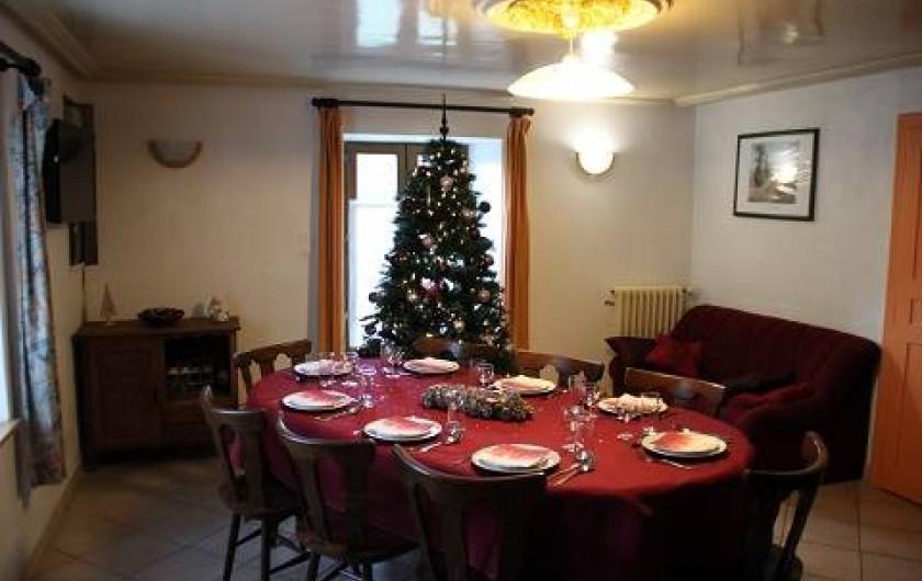 Location de vacances - Gîte à Rochesson - Living Bistrot