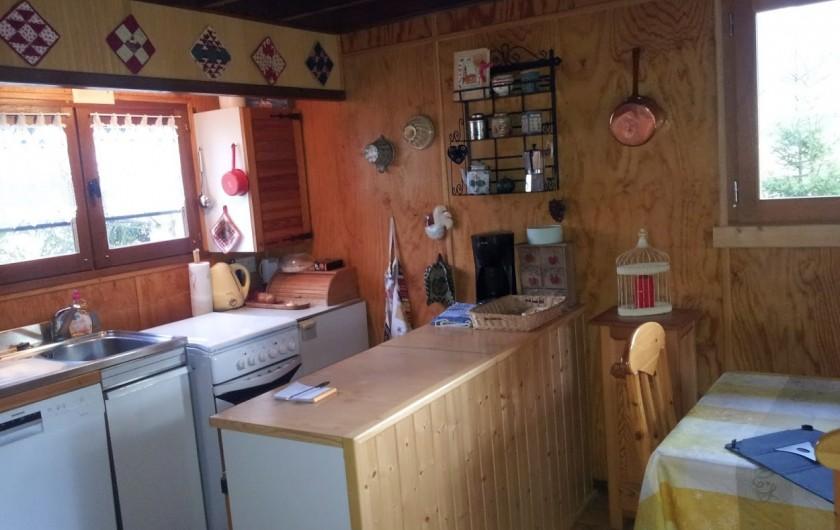 Location de vacances - Chalet à Lans-en-Vercors - kitchenette