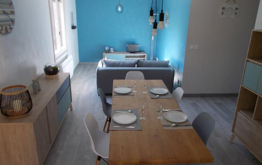 Location de vacances - Appartement à Labaroche - une pièce à vivre chaleureuse et confortable