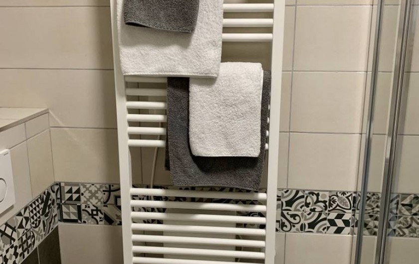 Location de vacances - Appartement à Labaroche - le linge de toilette est fourni