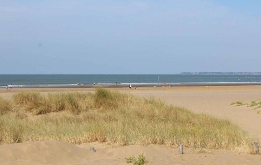 Location de vacances - Bungalow - Mobilhome à Saint-Brevin-les-Pins - Plage de la Pierre Attelée à 300m du camping