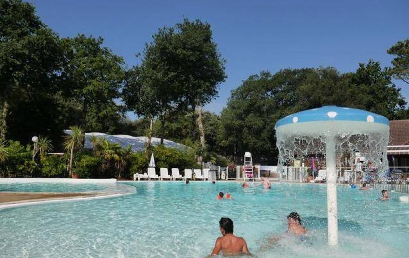 Location de vacances - Bungalow - Mobilhome à Saint-Brevin-les-Pins - Piscine