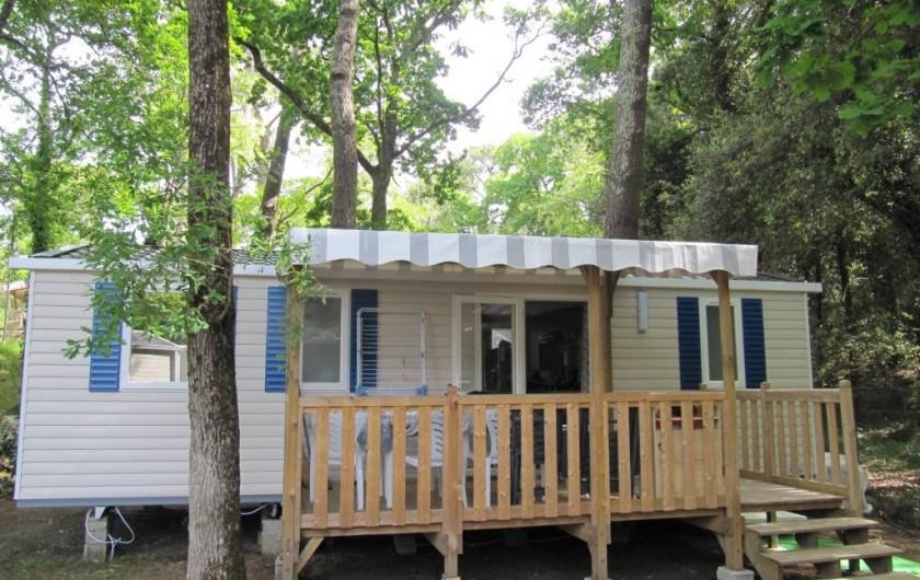 Location de vacances - Bungalow - Mobilhome à Saint-Brevin-les-Pins - Mobil-home