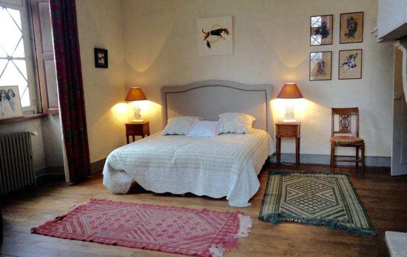 Location de vacances - Château - Manoir à Montreuil-Bonnin - chambre 1