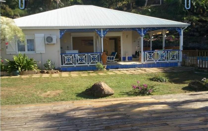 Location de vacances - Villa à Deshaies - la villa