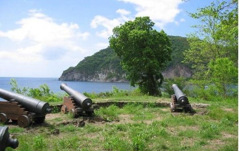 Location de vacances - Villa à Deshaies - pointe baterie