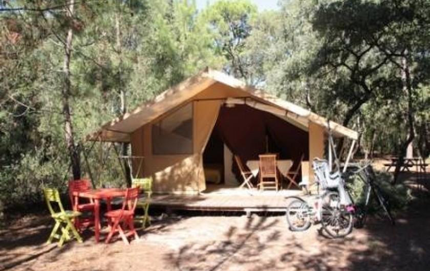 Location de vacances - Camping à Chaucre
