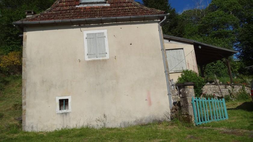 Maison (anciennement couverte de chaume)
