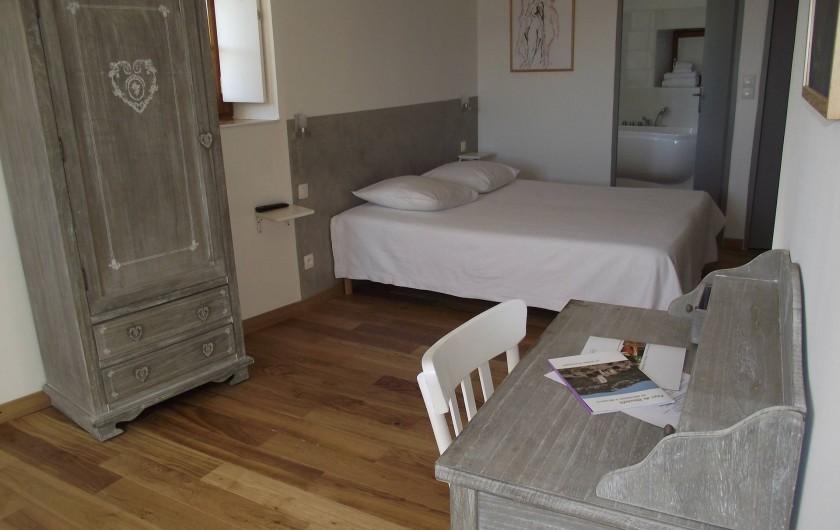 Location de vacances - Gîte à Le Poët-Laval - Chambre Perle