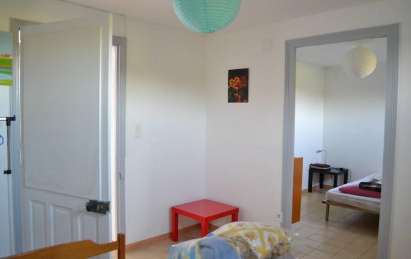 Location de vacances - Villa à Argelès-sur-Mer - Chambres en enfilade