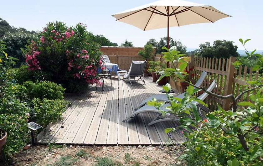 Location de vacances - Chambre d'hôtes à Grimaud