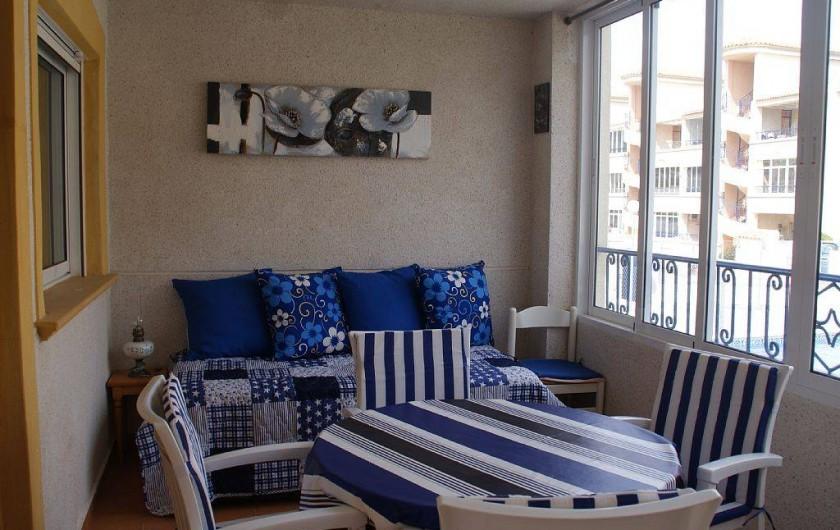 Location de vacances - Appartement à Punta Prima - Terrasse