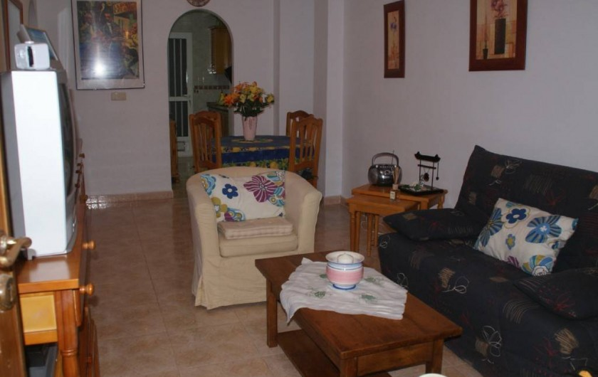 Location de vacances - Appartement à Punta Prima - Salon