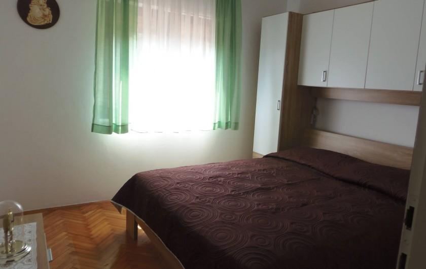 Location de vacances - Appartement à Veli Rat - La chambre  APT2