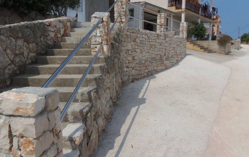 Location de vacances - Appartement à Veli Rat - Parking APT2