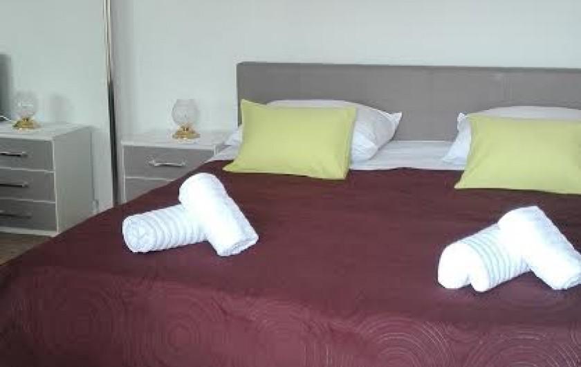 Location de vacances - Appartement à Veli Rat - La chambre APT1