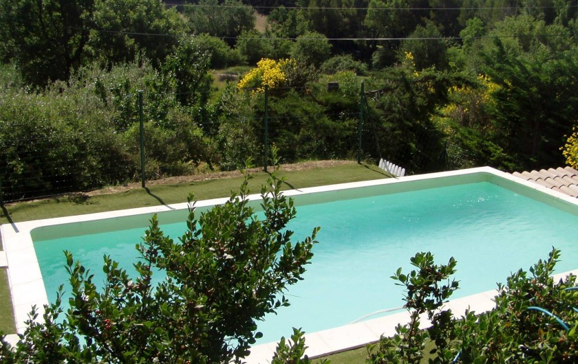 Location de vacances - Villa à Saint-Martin-de-la-Brasque