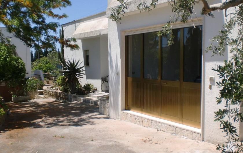 Location de vacances - Villa à Gallipoli - villa independente Ginestra 4 chambres , 2 bains max 11 places