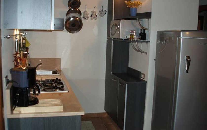 Location de vacances - Appartement à Guardistallo - Cuisine